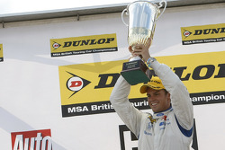 Race winner Tom Chilton