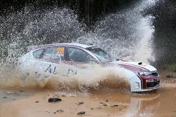 Majed Al Shamsi and Killian Duffy, Subaru Impreza WRX, Team Abu Dhabi