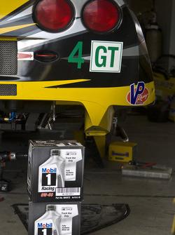 Track Use Only: Detail of #4 Corvette Racing Chevrolet Corvette C6 ZR1: Oliver Gavin, Jan Magnussen