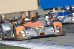 #05 Core Autosport Oreca FLM09: Jon Bennett, Frankie Montecalvo, Andy Wallace
