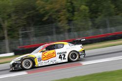 #42 Team Sahlen Mazda RX-8: John Edwards, Wayne Nonnamaker