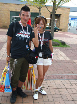 Fans at Twin Ring Motegi