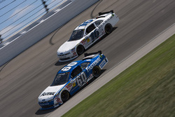 Carl Edwards and Trevor Bayne