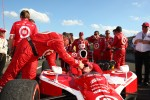 Race winner Scott Dixon, Target Chip Ganassi Racing celebrates