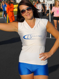 ES Racing Grid Girl to Chris James