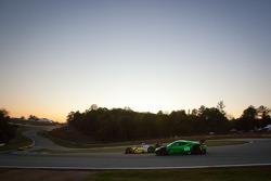 #18 Performance Tech Motorsports Oreca FLM09: Anthony Nicolosi, Jarrett Boon, Jan-Dirk Leuders, #02 Extreme Speed Motorsports Ferrari F458 Italia: Ed Brown, Guy Cosmo, Rob Bell