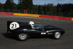 #21 Jaguar D-type: Gary Pearson, John Pearson