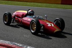 #37 Eddy Perk, F1 Heron-Alfa Romeo
