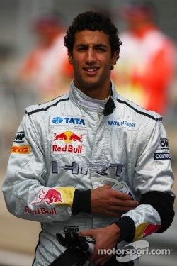 Daniel Ricciardo, HRT