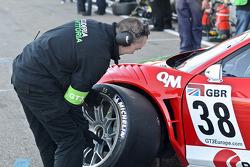 #38 Scuderia Vittoria Ferrari 458 Italia: Michael Lyons/Filip Salaquarda