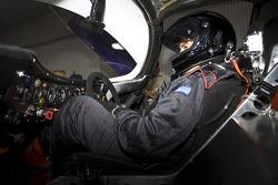 Inside a Porsche 962