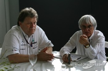 Norbert Haug interview with Bernie Ecclestone