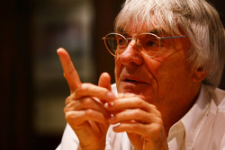 Interviews with Bernie Ecclestone