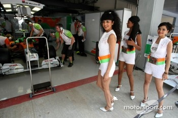 Girls, Force India Racing Team
