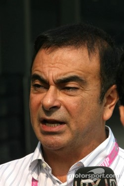 Carlos Ghosn, Chief Executive of Renault