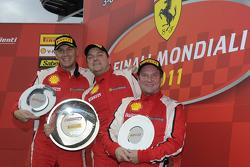 Trofeo Pirelli F430, Ferrari Challenge Europa, race 1 podium