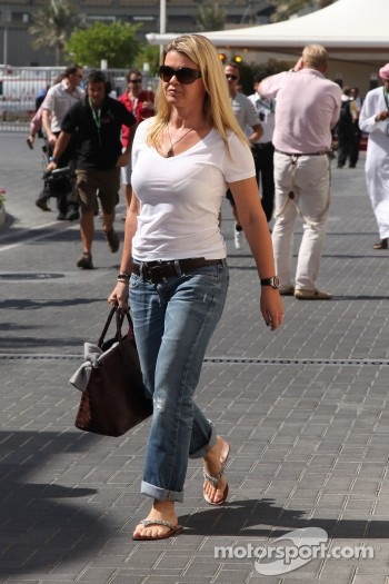 Corina Schumacher, Wife of Michael Schumacher, Mercedes GP F1 Team