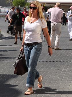 Corina Schumacher, Wife of Michael Schumacher, Mercedes GP F1 Team