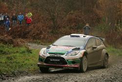 Jari-Matti Latvala and Miikka Anttila, Ford Fiesta RS WRC, BP Ford Abu Dhabi World Rally Team