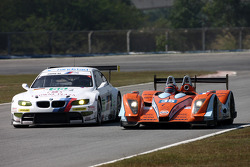 #35 Oak Racing Oak Pescarolo - Judd: Frederic Da Rocha, Patrice Lafargue, #55 BMW Motorsport BMW M3: Augusto Farfus Jr., Jorg Müller