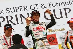 GT300 race 1 winner Nobuteru Taniguchi