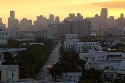 Sunset on Miami Beach