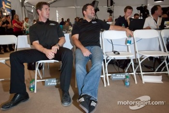 Championship contenders press conference: Carl Edwards and Tony Stewart