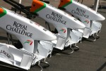 Force India Racing Team front wings