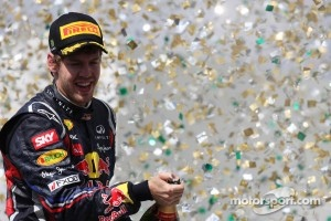 Vettel not the top European athlete of 2011