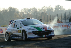 Paolo Andreucci and Anna Andreussi - Peugeot 207 S2000