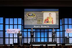 Kyle Busch and Kurt Busch