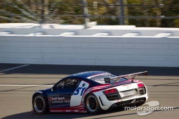 #51 Audi of America Audi R8 LMS Grand-Am: Frank Stippler