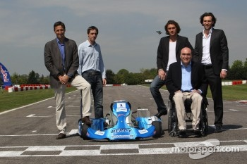 Philippe Streiff with the electric Sodikart