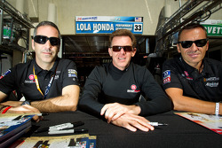 Joao Barbosa, Scott Tucker and Christophe Bouchut