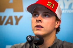 Press conference: Trevor Bayne, Wood Brothers Racing Ford