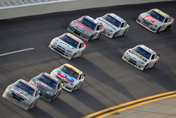 Mark Martin, Michael Waltrip Racing Toyota leads the pack