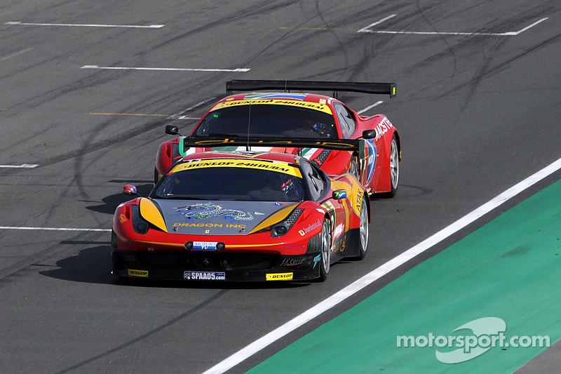 #12 AUH Motorsports/FF Corse Ferrari 458 Italia GT3: Leon Price, Rob Barff, Jordan Grogor, Charlie Hollings