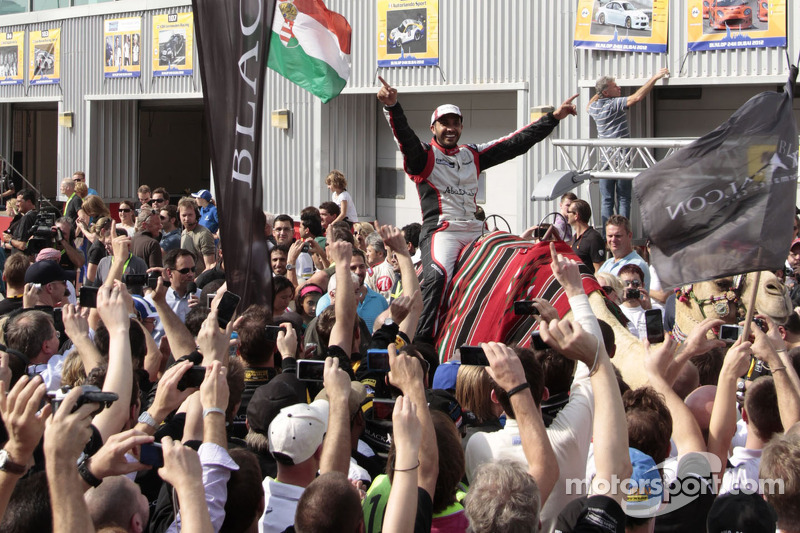 Khaled Al Qubaisi celebrates