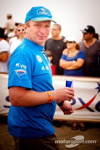 Kamaz Master team manager Vladmir Chagin