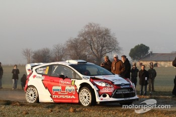 Evgeny Novikov and Dmitry Chumak, Ford Fiesta WRC