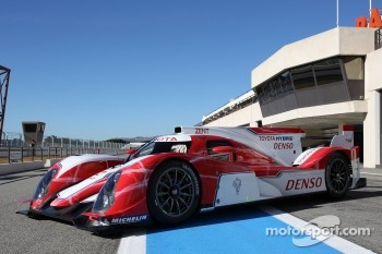 The new Toyota Hybrid TS030
