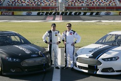 New Ford Fusion for 2013 NASCAR Season, with Ricky Stenhouse Jr., and Greg Biffle, Roush Fenway Racing Ford