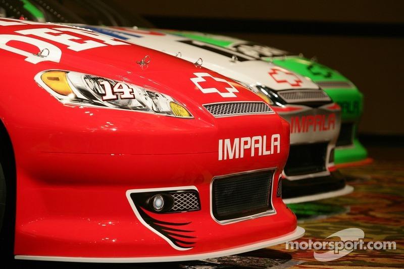 Cars of Stewart-Haas Racing Chevrolet