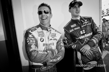 Scott Pruett and Graham Rahal