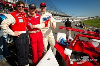 Daytona 24 Heritage cars photoshoot: Didier Theys, Fredy Lienhard and Max Papis