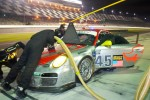 #45 Flying Lizard Motorsports with Wright Motorsports  Porsche GT3: Jorg Bergmeister, Patrick Long, Seth Neiman, Mike Rockenfeller