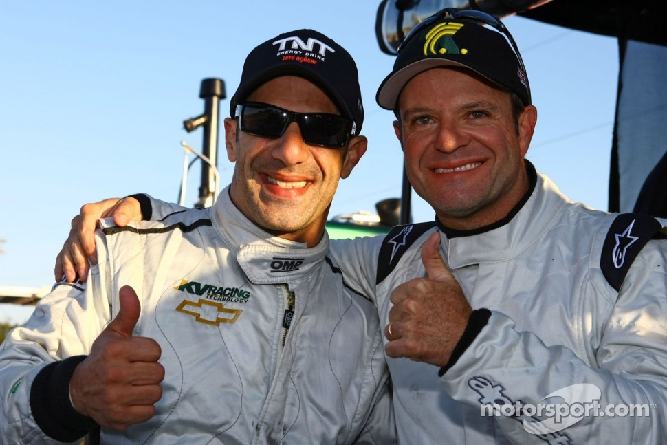 Tony Kanaan and Rubens Barrichello, KV Racing Technology