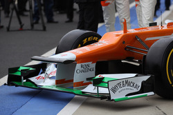 The New VJM05 front wing