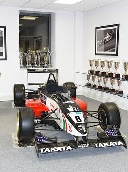 Takuma Sato's F3 car
