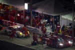 Pit stop for #99 GAINSCO/Bob Stallings Racing Corvette DP: Jon Fogarty, Memo Gidley, Alex Gurney and #59 Brumos Racing Porsche GT3: Andrew Davis, Hurley Haywood, Leh Keen, Marc Lieb